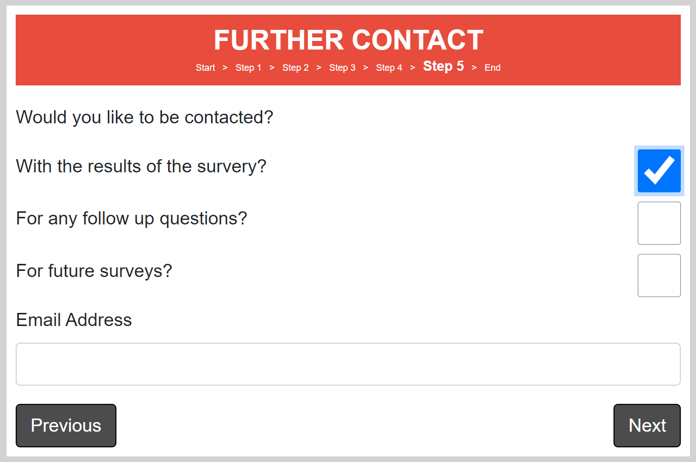 further contact page