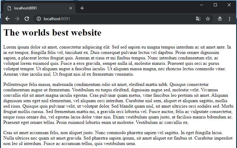 website 1 screenshot
