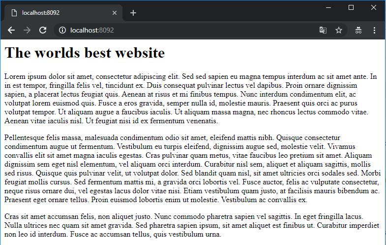 website 2 screenshot